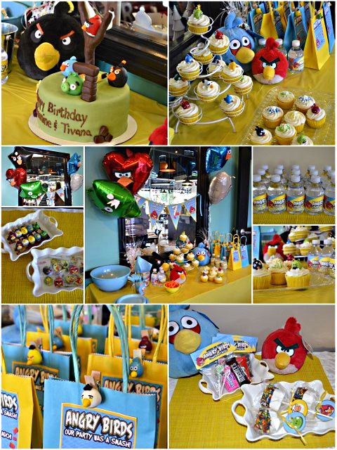 Angry birds party for Angry birds party decoration ideas