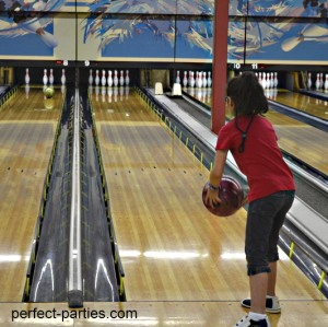 bowling birthday party ideas