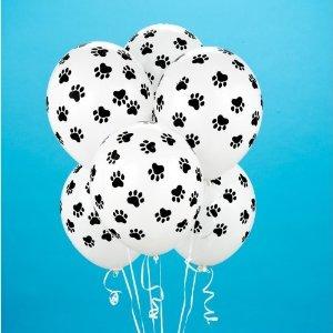 dog paw balloons