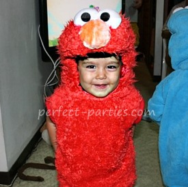 elmo birthday costume