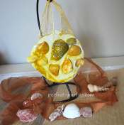 seashell mosaic craft