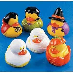 halloween party ducks