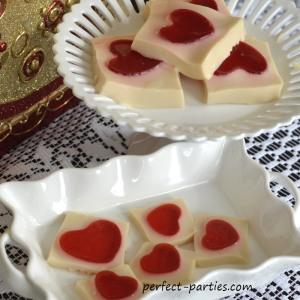 heart jello