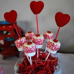marshmallow lollipops