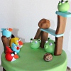 angry birds cake photo