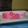 princess button headband