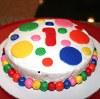 1st birthday Wiggles smash cake