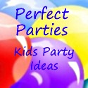 perfect parties square button