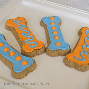 dog birthday biscuits