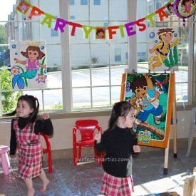 dora and diego birthday party