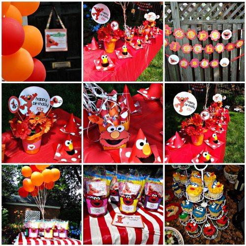 Elmo birthday party