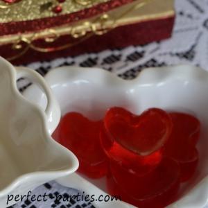jello hearts from mold