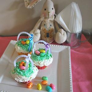 jellybean cupcake