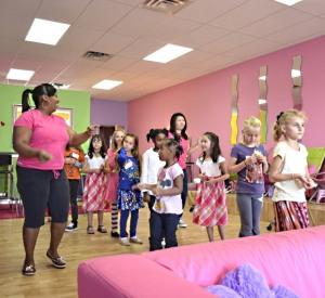 spa party dance activity