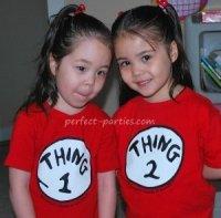 Thing 1 and 2 shirts