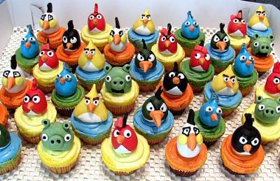 Birds Cake