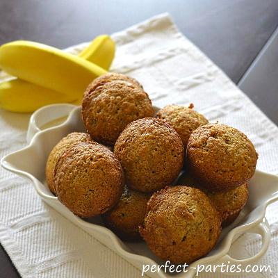 Sour Cream Banana Muffins.