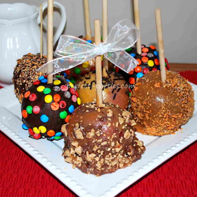 Make fun candy covered apples.