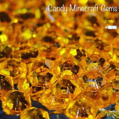 Minecraft Candy Gems