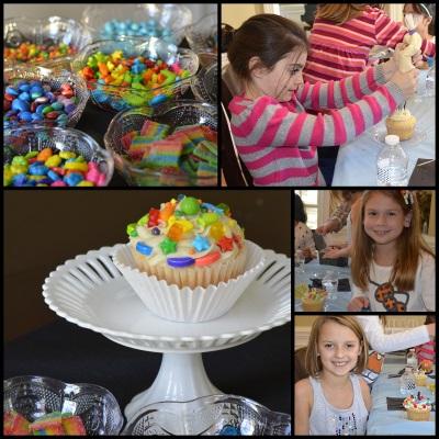 Decorating Cupcake Activity