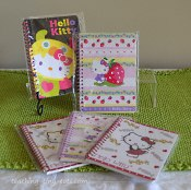 Cute notebooks for party favors.