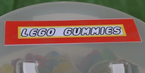 lego gummies label