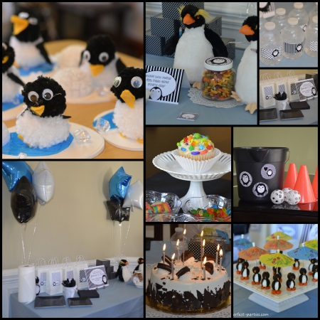 Penguin Party Ideas & Penguin Party
