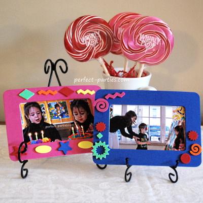 Make a birthday frame make and take