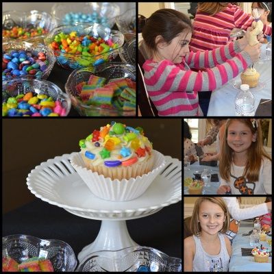 Decorating Cupcake Activity