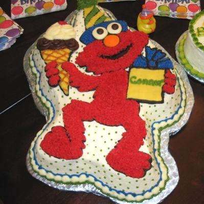 return to birthday cakes elmo cake 2 by el cad