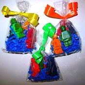 Lego Crayons from silicone molds
