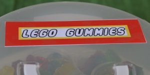 lego gummies label