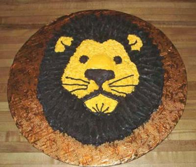 My Lion King Cake