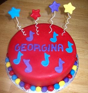 Red Wiggles Smash Cake