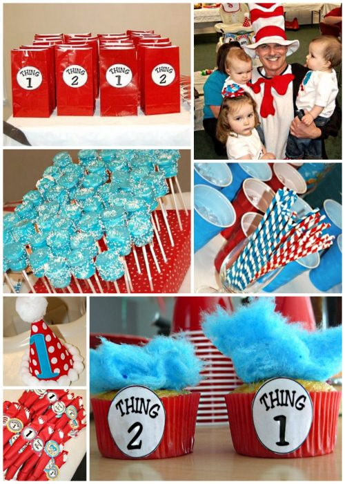 thing 1 and 2 party ideas