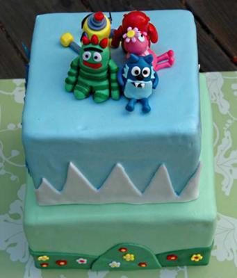 Yo Gabba Gabba Cake 3